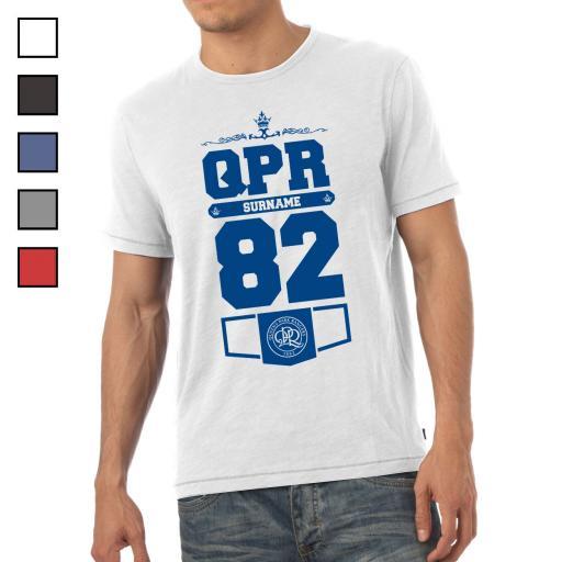 Queens Park Rangers FC Mens Club T-Shirt