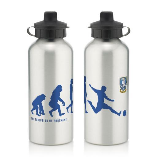 Personalised Sheffield Wednesday Evolution Water Bottle.