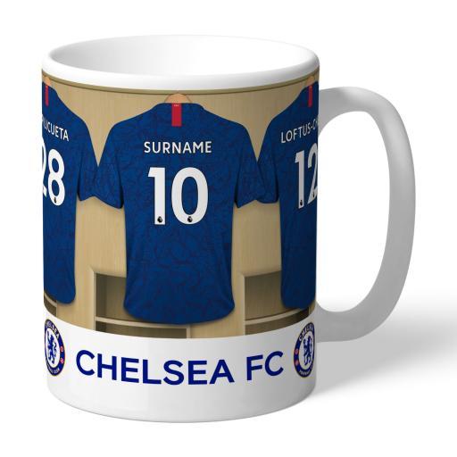 Chelsea FC Dressing Room Mug