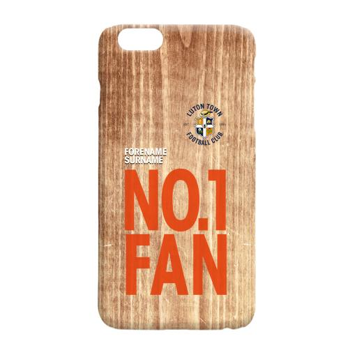 Luton Town FC No 1 Fan Hard Back Phone Case