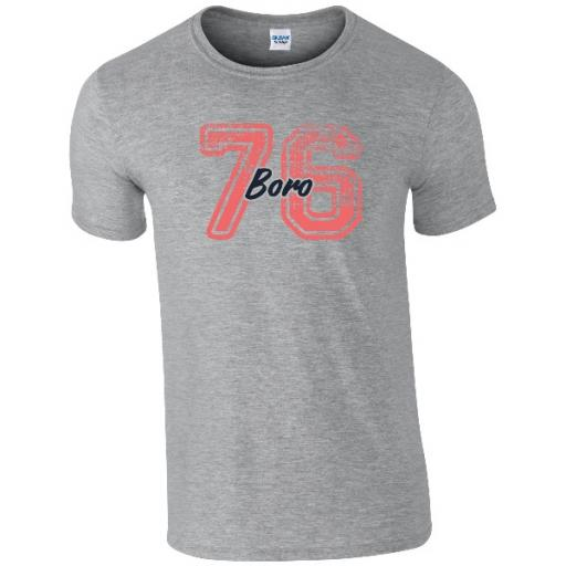 Personalised Middlesbrough FC Varsity Number T-Shirt.