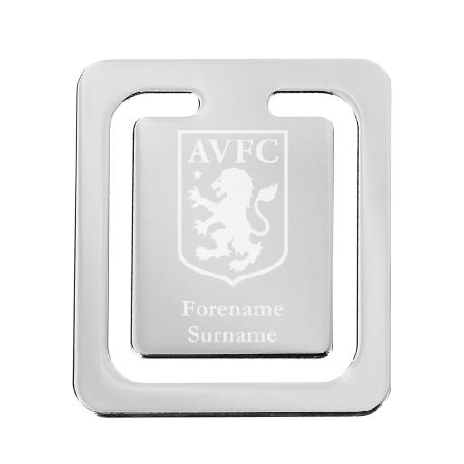 Aston Villa FC Crest Bookmark