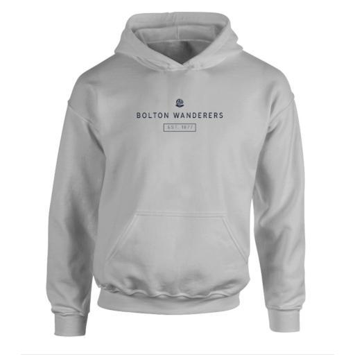 Personalised Bolton Wanderers FC Minimal Hoodie.