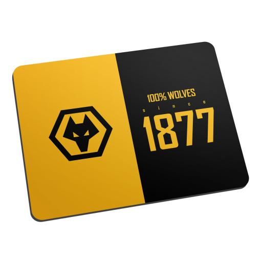 Personalised Wolves 100 Percent Mouse Mat.