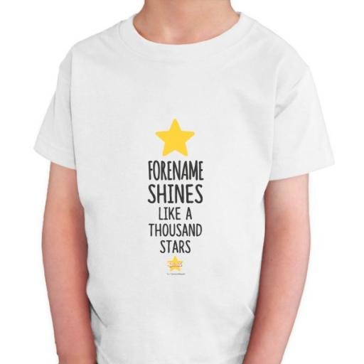 Steven Universe Name Shines Kids T-shirt