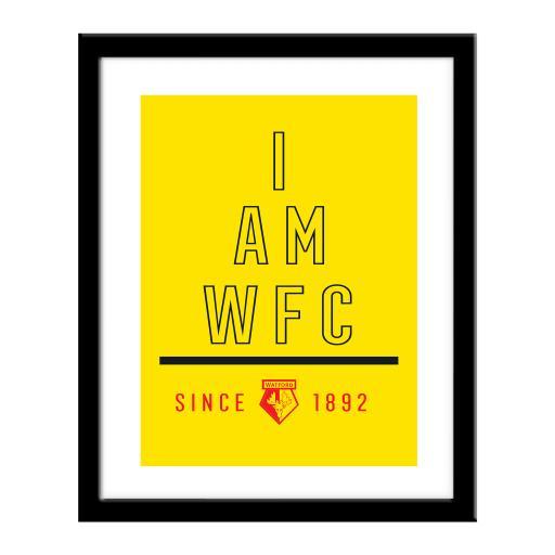 Watford FC I Am Print