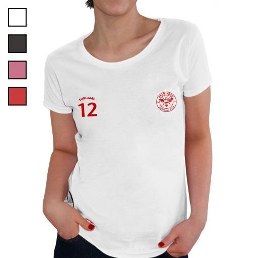 Brentford FC Ladies Sports T-Shirt