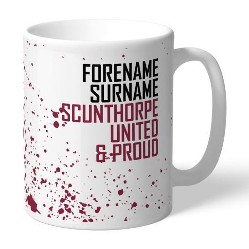 Scunthorpe United FC Proud Mug