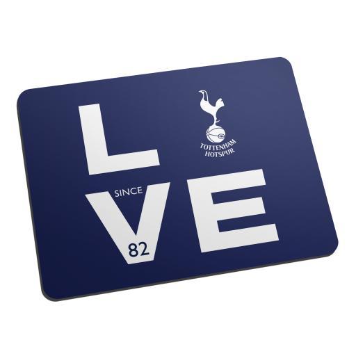 Tottenham Hotspur Love Mouse Mat