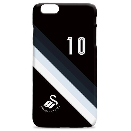 Swansea City AFC Stripe Hard Back Phone Case