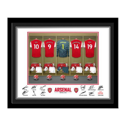 AFC Goalkeeper Dressing Room Photo Framed