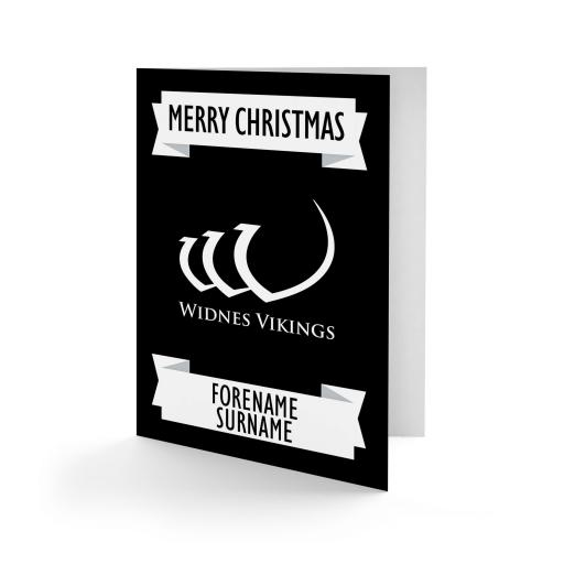 Widnes Vikings Crest Christmas Card