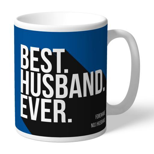Personalised Birmingham City Best Husband Ever Mug.
