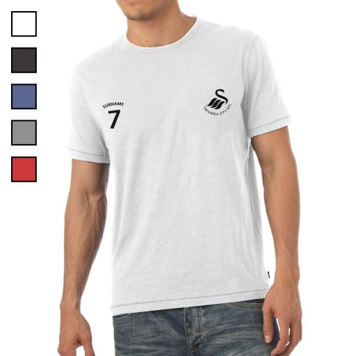 Swansea City AFC Mens Sports T-Shirt