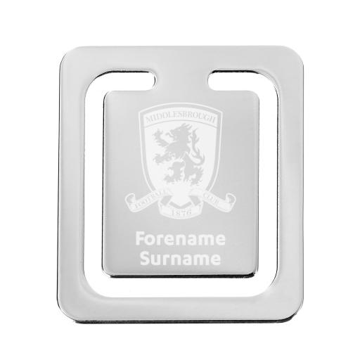 Middlesbrough FC Crest Bookmark