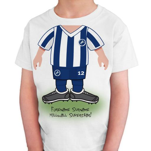 Millwall FC Kids Use Your Head T-Shirt