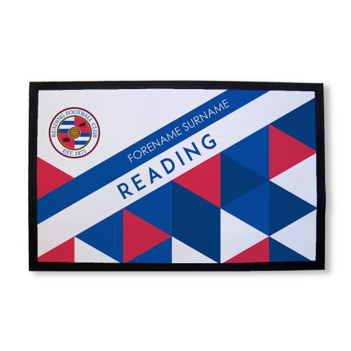 Reading FC Patterned Door Mat