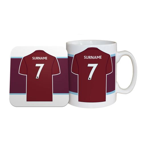 Burnley FC Shirt Mug & Coaster Set