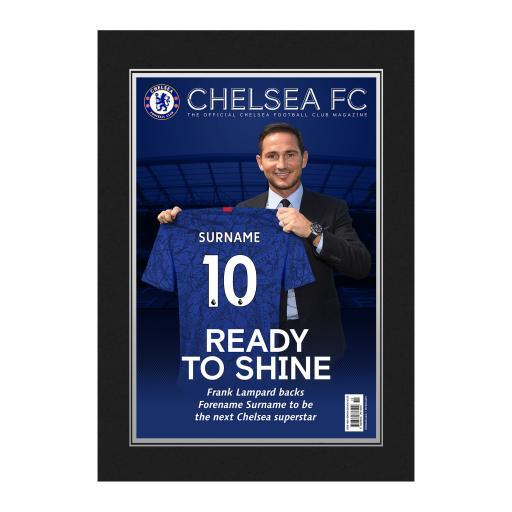 Chelsea FC Magazine Front Cover Photo Folder