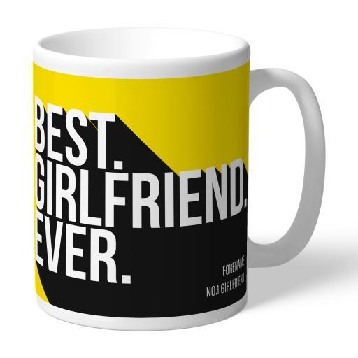 Watford FC Best Girlfriend Ever Mug