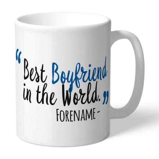 Cardiff City Best Boyfriend In The World Mug