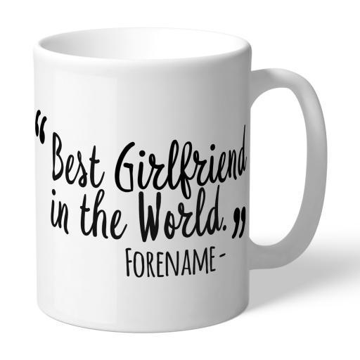 Derby County Best Girlfriend In The World Mug