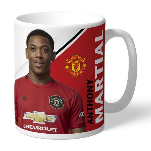 Manchester United FC Martial Autograph Mug