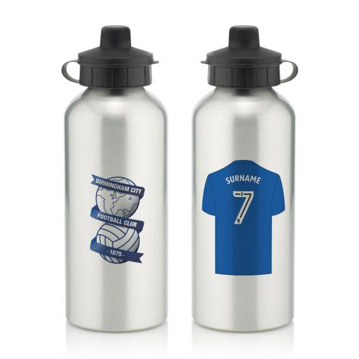 Birmingham City FC Aluminium Water Bottle