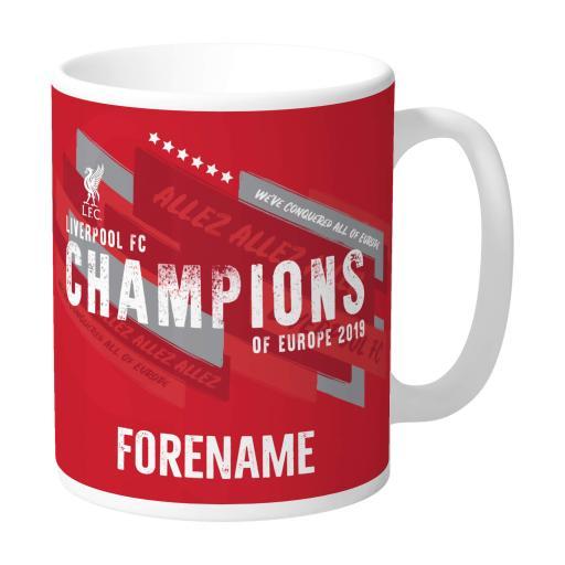 Liverpool FC Champions of Europe Mug