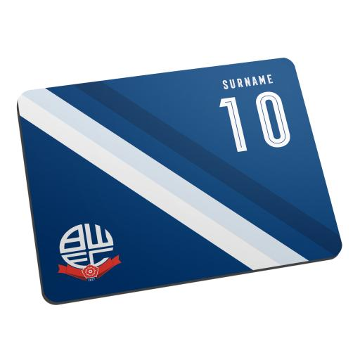 Bolton Wanderers Stripe Mouse Mat
