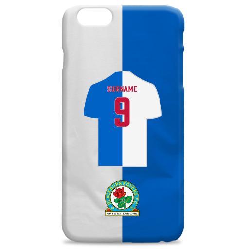 Blackburn Rovers FC Shirt Hard Back Phone Case