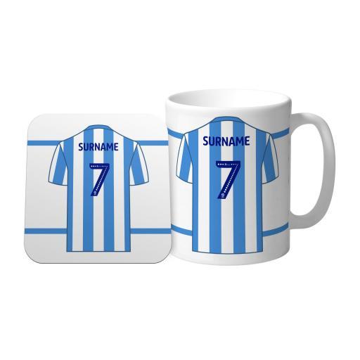 Huddersfield Town FC Shirt Mug & Coaster Set