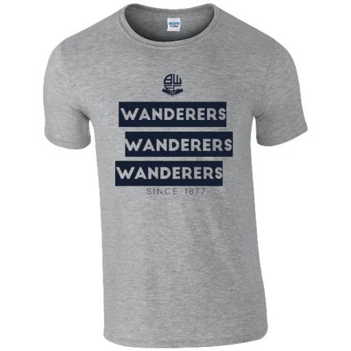 Personalised Bolton Wanderers FC Chant T-Shirt.