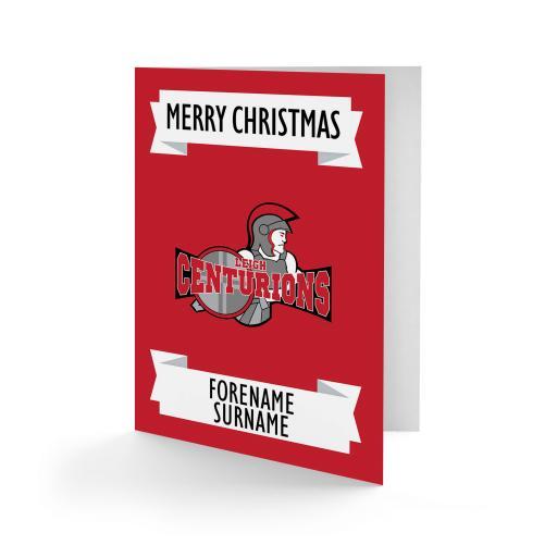 Leigh Centurions Crest Christmas Card