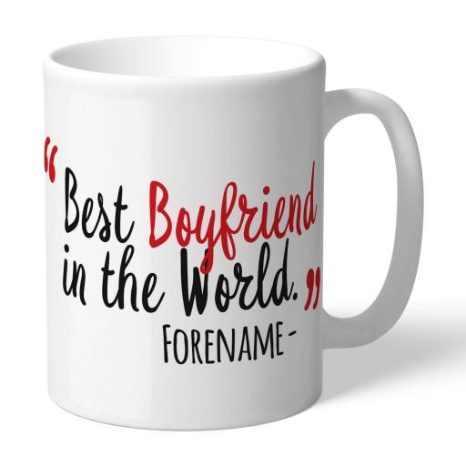 Southampton FC Best Boyfriend In The World Mug