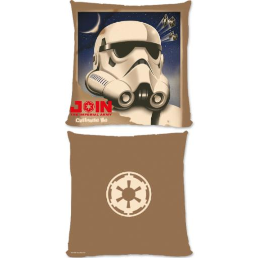 "Star Wars Rebels ""Join The Imperial Army"" Large Fibre Cushion"