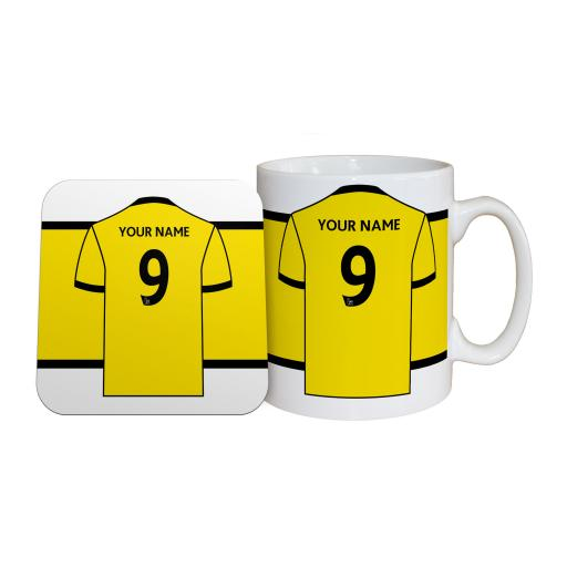 Watford FC Shirt Mug & Coaster Set