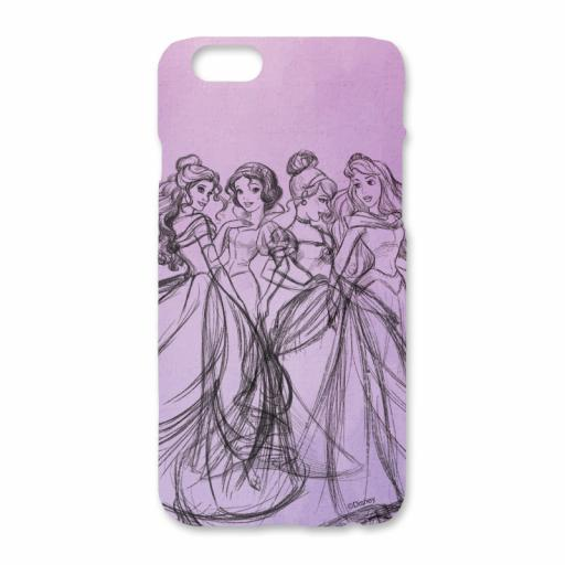 Disney Princess Group Watercolour iPhone 6/6S Clip Case