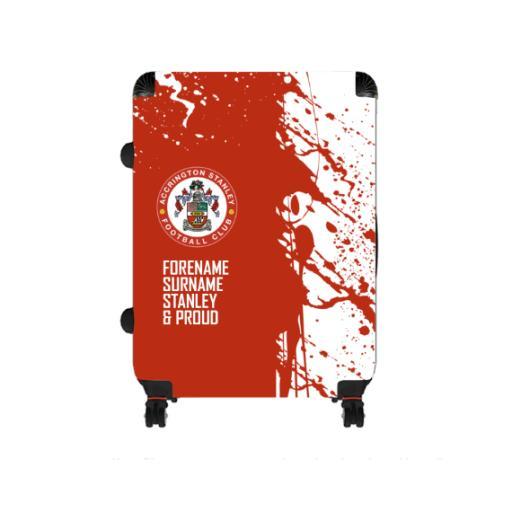 Accrington Stanley Proud Large Suitcase