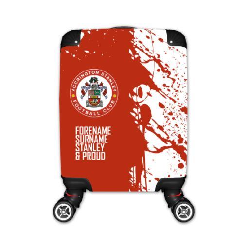 Accrington Stanley Proud Kid's Suitcase