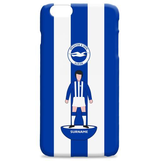 Brighton & Hove Albion FC Player Figure Hard Back Phone Case