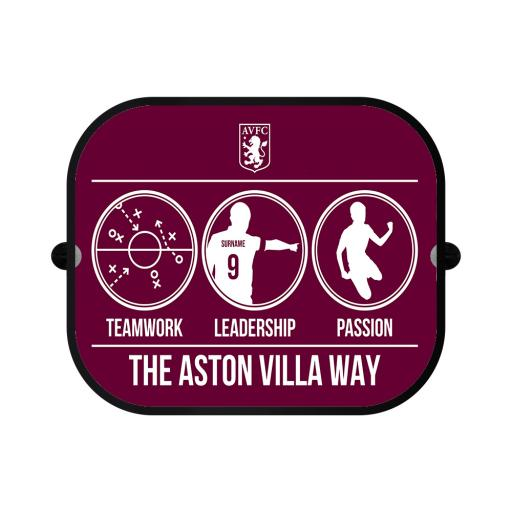 Aston Villa FC Way Car Sunshade