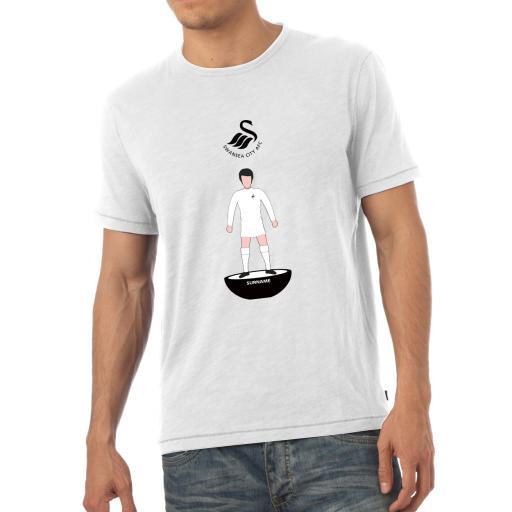 Swansea City AFC Player Figure Mens T-Shirt