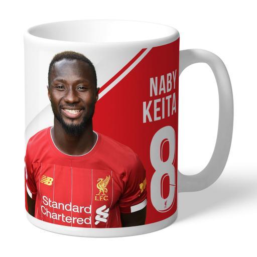 Liverpool FC Keita Autograph Mug