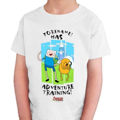 Adventure Time Adventure Training Kids T-shirt