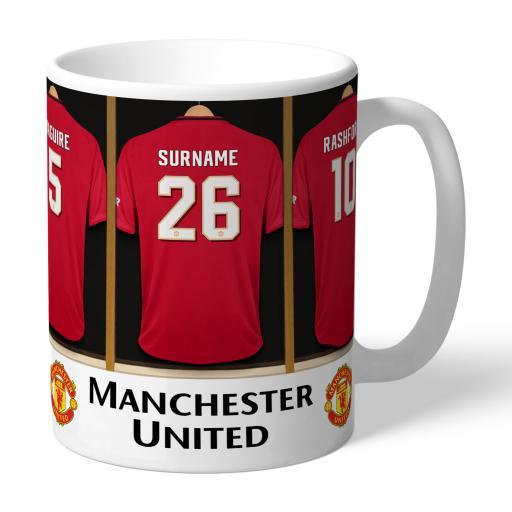 Manchester United FC Dressing Room Mug