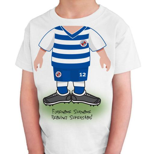 Reading FC Kids Use Your Head T-Shirt
