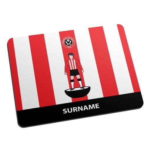 Sheffield United FC Player Figure Mouse Mat