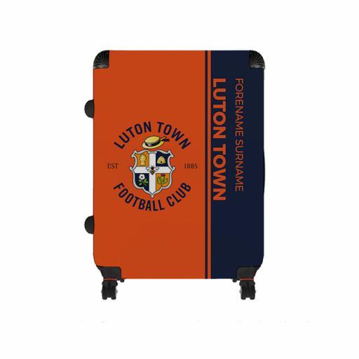Luton Town FC Crest Large Suitcase