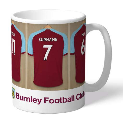 Burnley FC Dressing Room Mug
